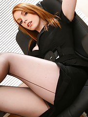 women showing feet in nylons and pantyhose